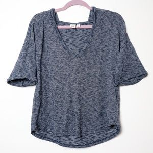 Gap | Heather Cuff Sleeve Hooded Sweater